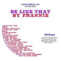 Be Like That by Frannie