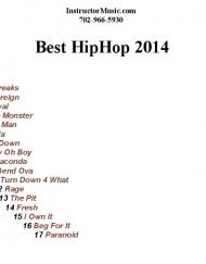 Best Hip Hop 2014