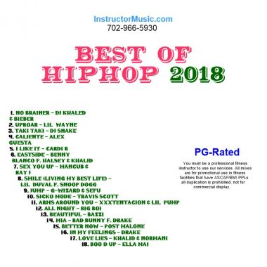 Best of HipHop 2018