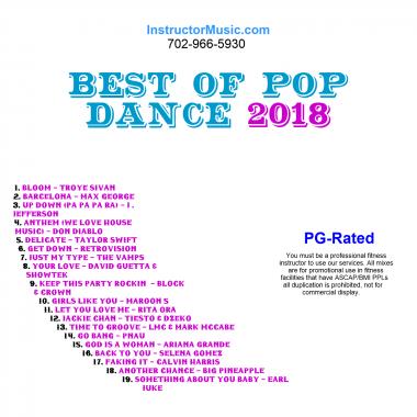 Best of Pop Dance 2018