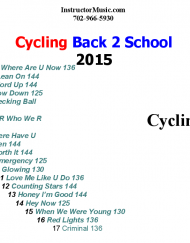 Cycling Back 2 School 2015