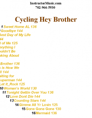 Cycling Hey Brother