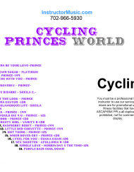 Cycling Princes World