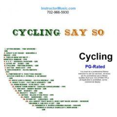 Cycling Say So