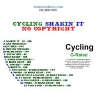 Cycling Shakin It (Royalty Free)