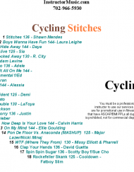 Cycling Stitches