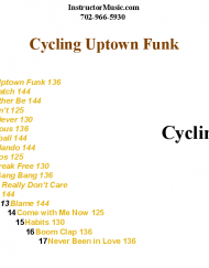 Cycling Uptown Funk