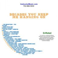 Decades You Keep Me Hanging On