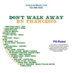 Don't Walk Away by Francesco