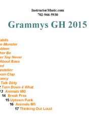 Grammys GH 2015
