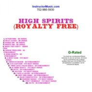 High Spirits (Royalty Free)
