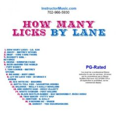How Many Licks by Lane