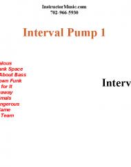 Interval Pump 1