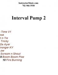 Interval Pump 2