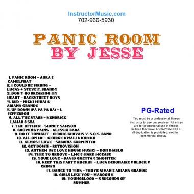 Panic Room By Jesse Instructor Music Workout Music