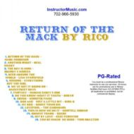 Return Of the Mack by Rico