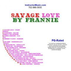 Savage Love by Frannie