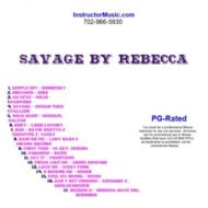 Savage by Rebecca