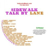 Sidewalk Talk by Lane