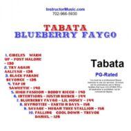 Tabata Blueberry Faygo