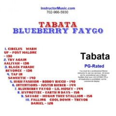 Tabata Blueberry Faygo