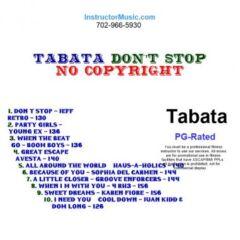 Tabata-Dont-Stop-Royal-Free