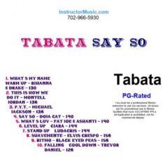 Tabata Say So