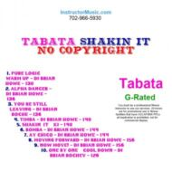 Tabata Shakin' It (Royalty Free)