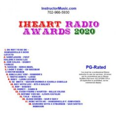 iHeart Radio Awards 2020